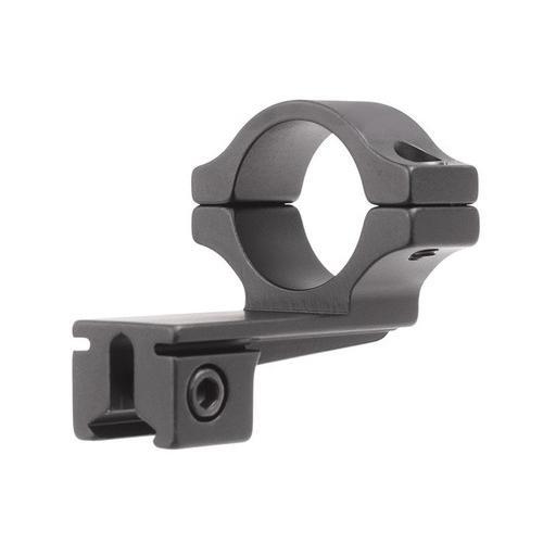 "BKL Single 1"" Offset Ring, 3/8"" or 11mm Dovetail, 0.60"" Long, Black"