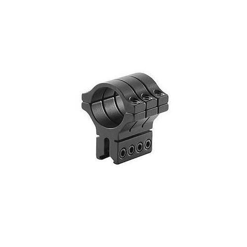 "BKL Single 30mm Triple Strap Ring, 3/8"" or 11mm Dovetail, 1.53"" Long, Black"