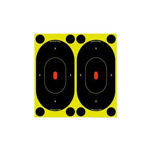 "Birchwood Casey Shoot-N-C Targets, 7"" Silhouette, 12 Targets + 48 Pasters"