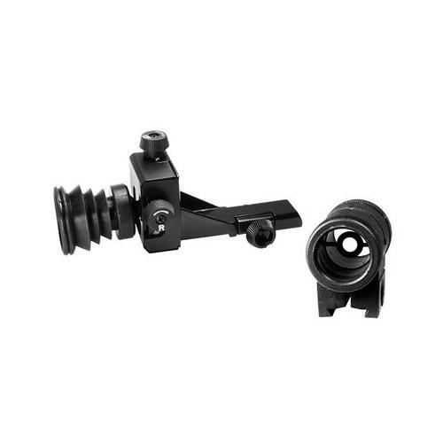 Crosman Precision Sight Set, Globe Front sight w/Insert, Rear Diopter Sight