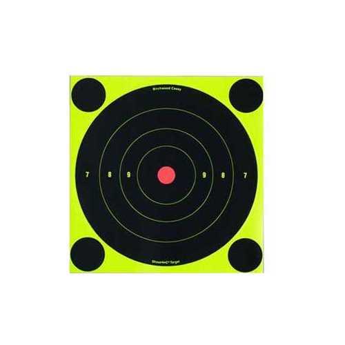 "Birchwood Casey Shoot-N-C Targets, 8"" Bullseye, 50 Targets + 200 Pasters"