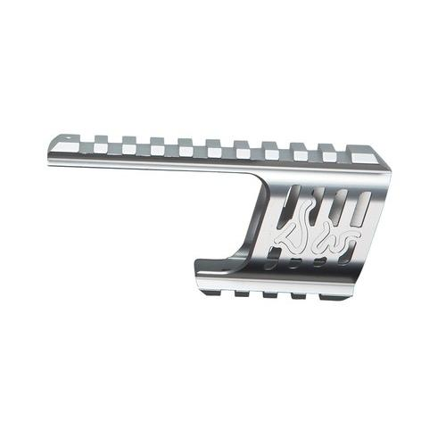 ASG Custom CNC Rail Mount, Silver