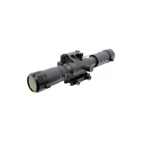 Spartan 3-9x32 Variable Rifle Scope With Integrated Tactical Laser And Rail Mount