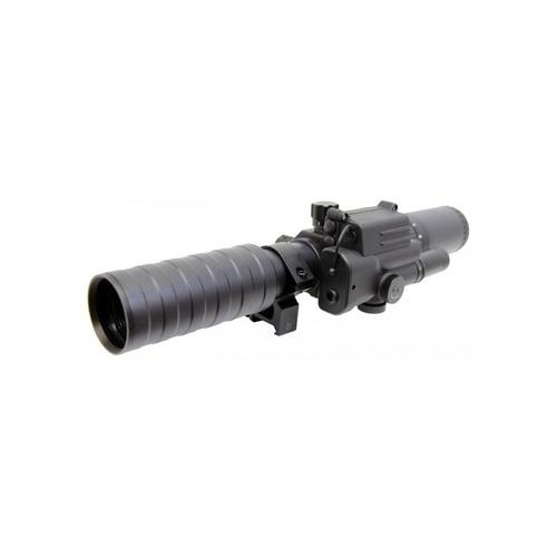 Spartan 3-9x32 Variable Rifle Scope With w/ Range Finder Reticle and Integrated Tactical Laser And Scope Rings