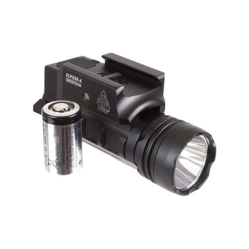 UTG Sub-Compact Pistol Flashlight, 400-Lumen CREE 3V LED, Picatinny Mount