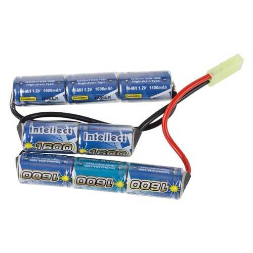 TSD 9.6v 1600 mAh Custom Scattered Type Battery, Mini Tamiya