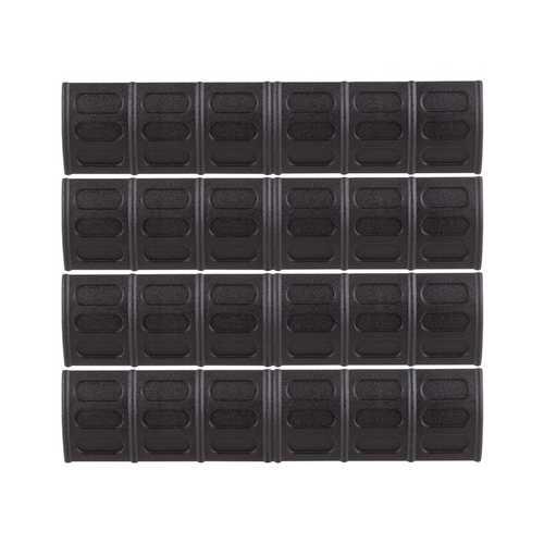 JBU Rail Covers 4 pieces, Black