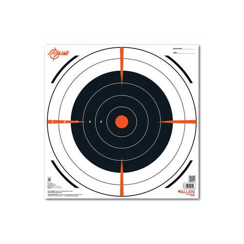 "Allen Company EZ Aim Bullseye Target, 12""x12"", 13-pack"