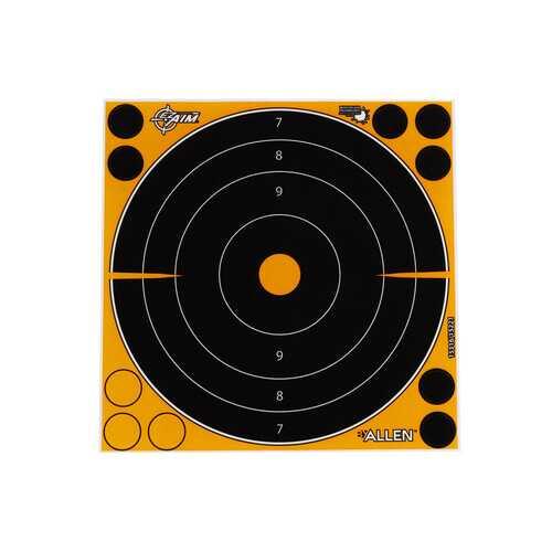 "Allen Company EZ Aim Splash Bullseye Target, 8""x8"", 30-pack"