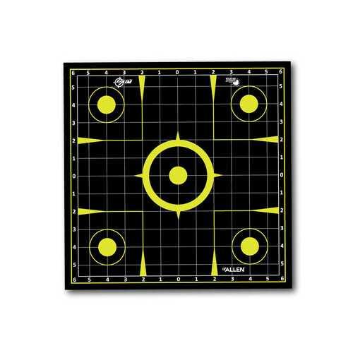 "Allen Company EZ Aim Splash Sight-In Grid Target Roll, 12""x12"", 8ct"