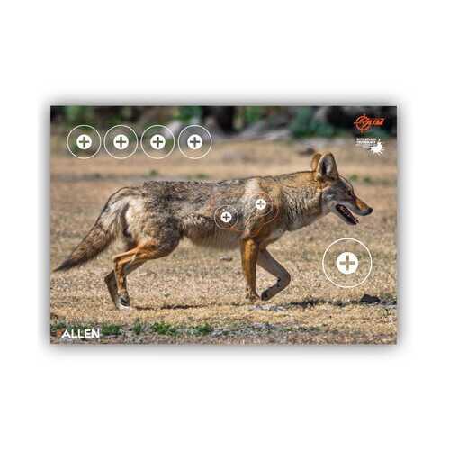 "Allen Company EZ Aim Splash Coyote Target, 13""x24"", 3-pack"