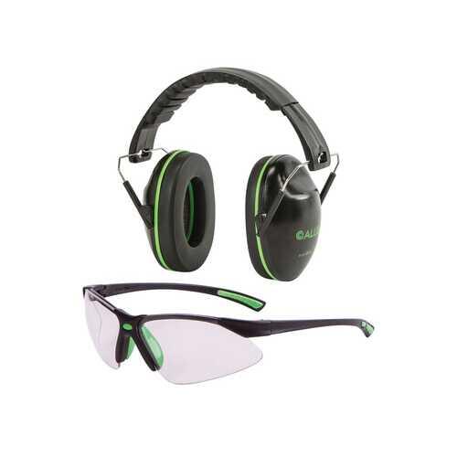 Allen Company Gamma Junior Muffs and Glasses Combo