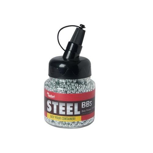 Air Venturi Steel BBs, .177 Cal, 5.1 Grains, Zinc-Plated, 2,500ct