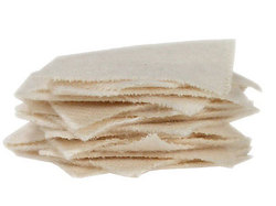 "Brownells 1-3/8"" Square Patches, Heavy-Duty Cotton Flannel, 100-ct"
