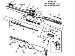 RWS Trigger Hook Spring / 92