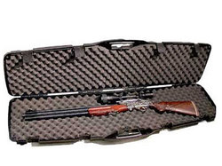 Plano Single Scoped or Double Non-Scoped Rifle Case