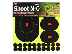 """Birchwood Casey Shoot-N-C 9"""" Targets, 3"""" Replacement Centers, 100 Pasters, 120ct"""