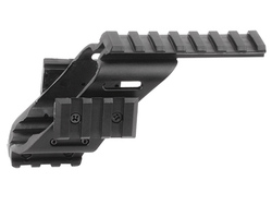 ASG Pistol Rail Mount, 4 Weaver Rails