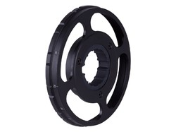 "Hawke Sport Optics 4"" Target Wheel, Fits Hawke Sidewinder 30 Side Focus Scopes"