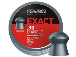 JSB Diabolo Exact Pellets, .30 Cal, 50.15 Grains, Domed, 150ct