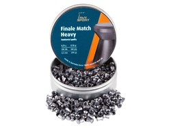 H&N Finale Match Heavy .177 Cal, 8.18 Grains, 4.50mm, Wadcutter, 500ct