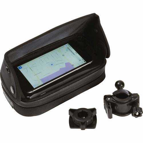 Adjustable, Waterproof Motorcycle/Bicycle GPS/Smartphone Mount