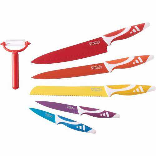 6pc Non-Stick Coated Cutlery Set