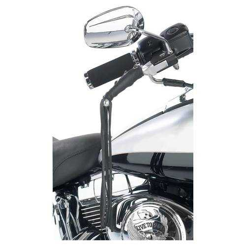 Solid Genuine Leather Motorcycle Lever Covers