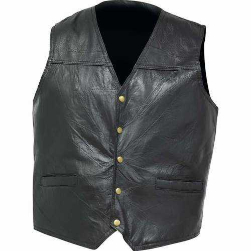 Genuine Leather Concealed Carry Vest