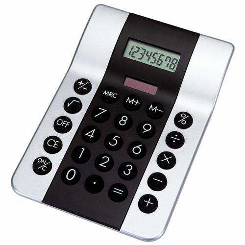 Dual-Powered Calculator
