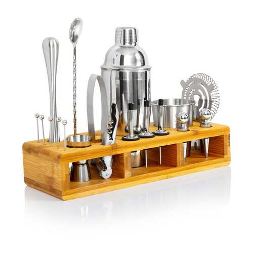 24pc Stainless Steel Bar Set