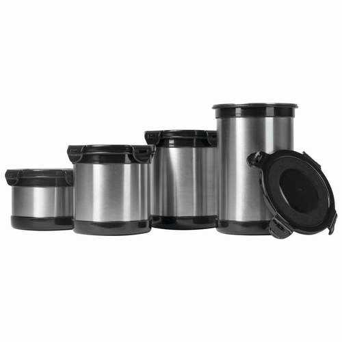Wyndham House 4pc Stainless Steel Storage Containers