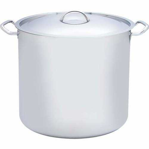 65qt 12-Element T304 Stainless Steel Stockpot