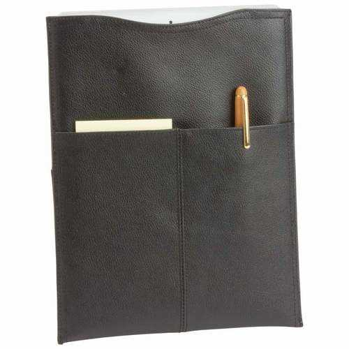 Solid Genuine Cowhide Leather Tablet Computer Sleeve