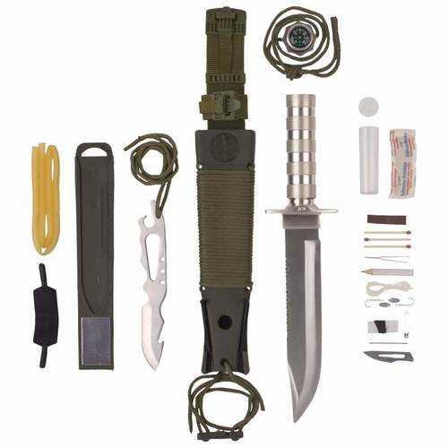 12pc Survival Knife Set