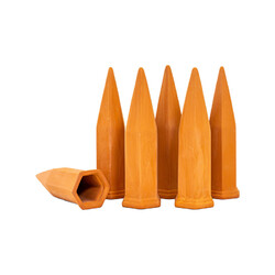 6pc Terracotta Watering Spikes