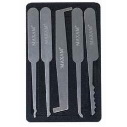 5pc Lock Pick Set with Case