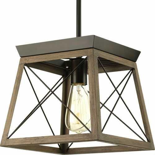 Antique Bronze Dimmable Light Lantern Geometric Chandelier