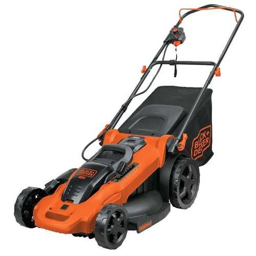 Cordless 20-inch Electric Lawn Mower with Two Lithium ion Batteries