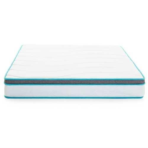 California King size 8-inch Memory Foam Innerspring Mattress