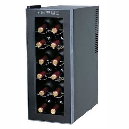 12-Bottle Thermo-Electric Wine Cooler - Low Power Usage