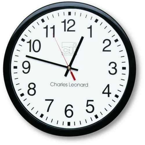 14-Inch Quartz Black and White Wall Clock