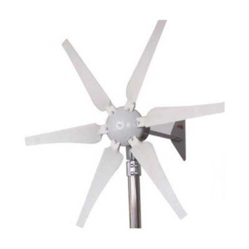 400-Watt 12-Volt 6-Blade Wind Generator with Charge Controller