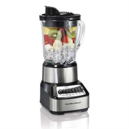 700-Watt Multi-Function Kitchen Countertop Blender with Glass Pitcher