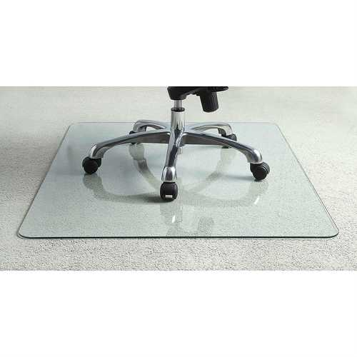 Heavy Duty 50 Inch Tempered Glass Chair Mat