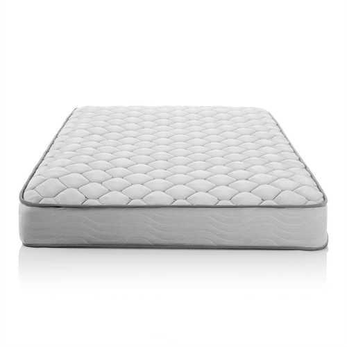 Full size 6-inch Medium Firm Innerspring Mattress with Foam Cushion Comfort Layer