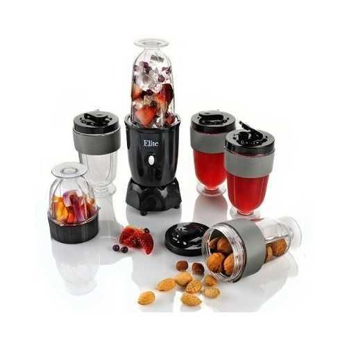 17-Piece Elite 300-Watt Personal Drink Blender Set by MaxiMatic