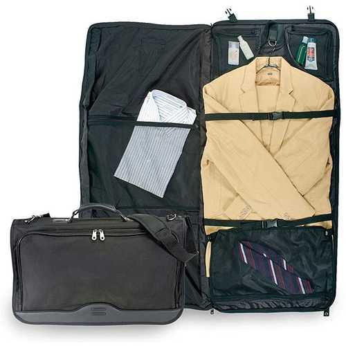 Nylon Tri-fold Carry-on Garment-Clothes Bag