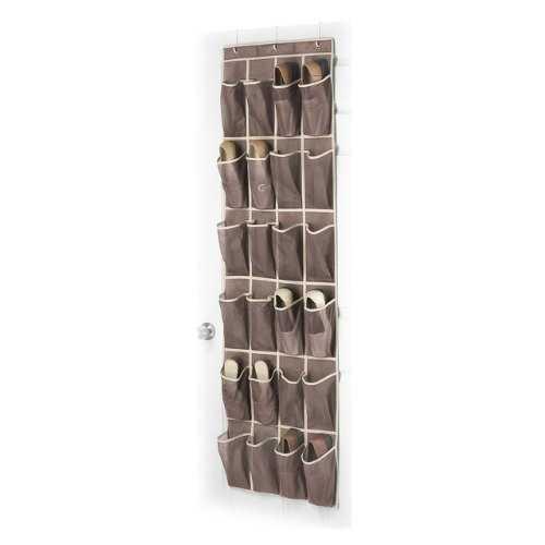 Door Hanging Shoe Rack Organizer with 24 Shoe Pockets in Java