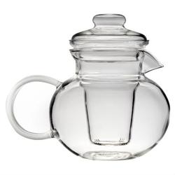 Borosilicate Glass Stovetop Safe Teapot with Glass Tea Infuser